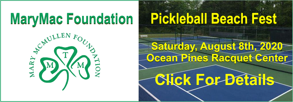 MaryMac Foundation Pickleball Beach Fest 2020